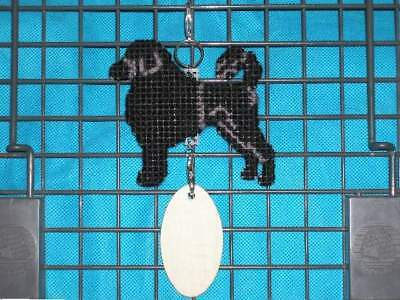 Portuguese Water Dog Lion Clip crate tag or hang anywhere pet art sign, cut