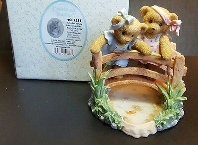 Cherished Teddies Sandy & Teia 2006 Signing Event  NIB  SIGNED