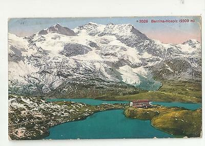 Bernina Hospiz Switzerland Postcard