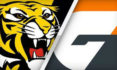 Richmond Tigers V Greater Western Sydney GWS - 2 Tickets - Level 1 M20