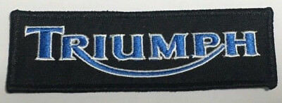 Embroidered  cloth patch ~ Triumph logo .    B021106