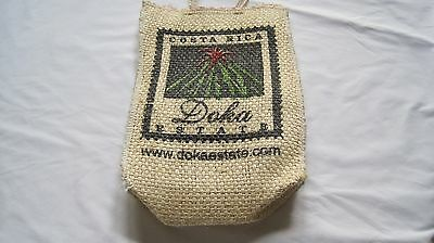 Woven straw tote bag from Costa Rica
