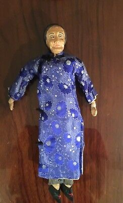 Antique Chinese composition cloth doll