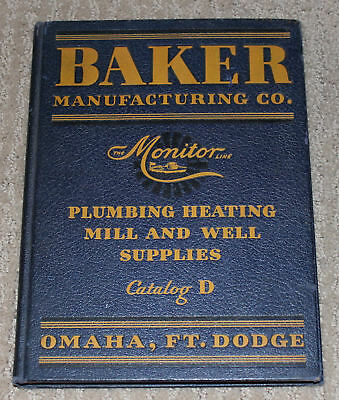 Original Baker Monitor 1931 Catalog  D Hit Miss Engine Windmill Many Other Items