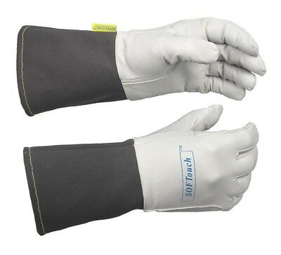 WELDAS SOFTouch, Very Soft & Excellent Feeling TIG Welding Gloves, S M L XL XXL