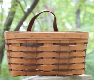 Longaberger Hanging Wall Basket 1992