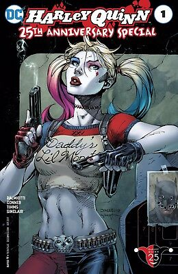 Harley Quinn 25th Anniversary Special 1 NM DC Comics Jim Lee Variant Cover