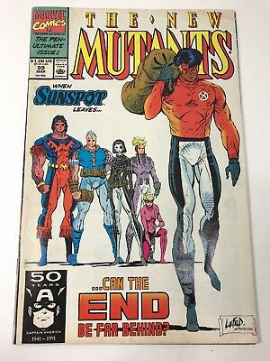 New Mutants 99 *1st Feral Appearance* 1991