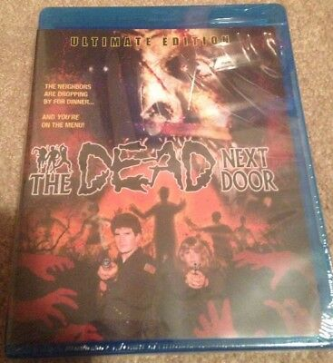 The Dead Next Door (Blu-Ray 3 Disc Ultimate Edition) OOP 80s zombie Walking Dead