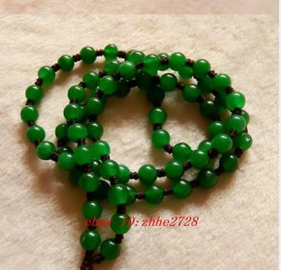Hand Knited Necklace silk thread knot cord beads For Pendant jade bead
