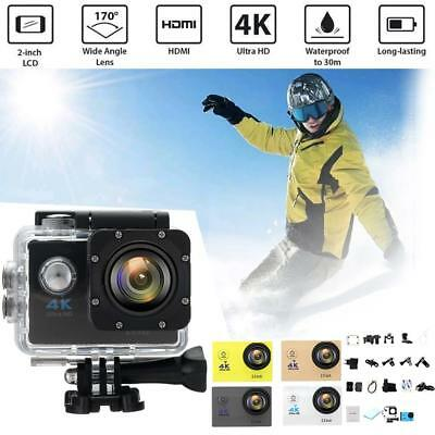 4K SJ9000 Waterproof Wifi Ultra HD 1080P Action Sport DV DVR Camera Camcorder DA