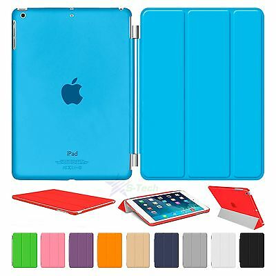 "Smart Magnetic Leather Cover Stand Back Case For iPad 2/3/4/mini/Air 2/9.7"" Lot"