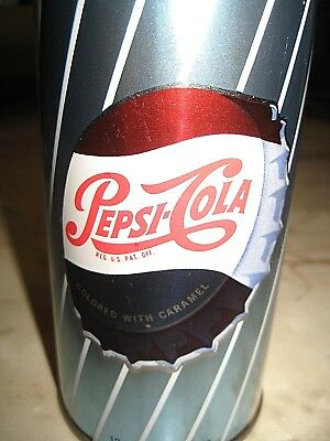 Vintage 1960's PEPSI COLA - Single Dot - SODA CAN - Pull Tab - Quincy, IL