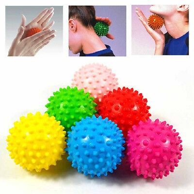 Yoga Spikey Massage Gym Balls Spiky Yoga Stress Reflexology for Foot Pain Relief