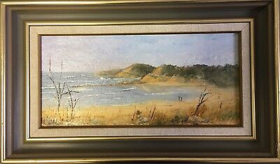 Australian Seascape Anglesea Original Oil Painting Alison Hall