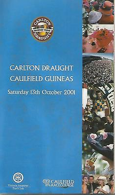 2001 Caulfield Guineas Racebook ( NORTHERLY~LONHRO )