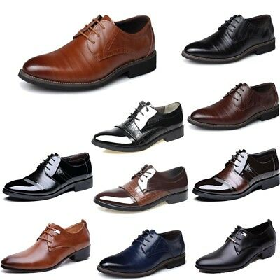 Men's Business Casual Formal Oxfords Leather Shoes Dress Formal Party Loafers