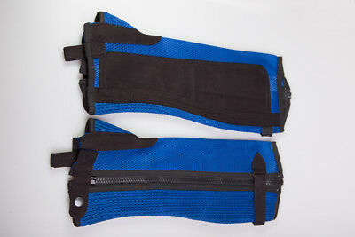Royal Blue Airmesh Chaps XL