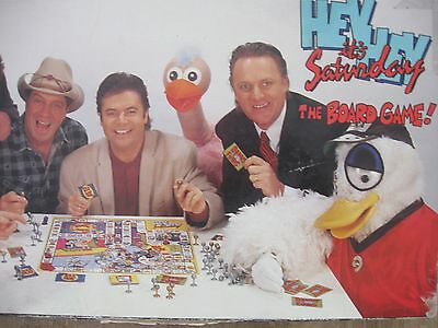 Hey Hey It's Saturday Vintage Board Game Daryl Somers Plucka Duck Ossie Ostrich