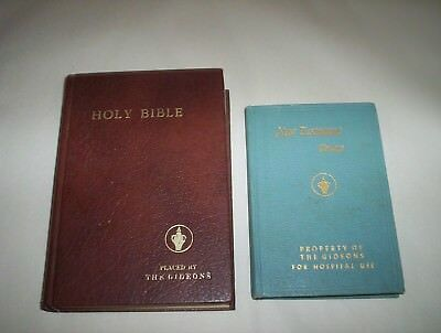 Holy Bible Gideons Canada Hardcover 1977 Edition KJV : Self Pronouncing Edition