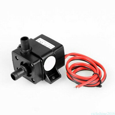 Ultra-quiet Mini DC 12V 3M 240L/H Brushless Motor Submersible Water Pump New YZ6