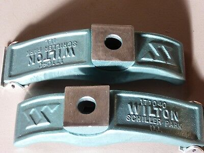 "New pair Wilton 9"" x 2"" x 5/8"" Pivot Hold Down Machine Clamps Bridgeport Milling"