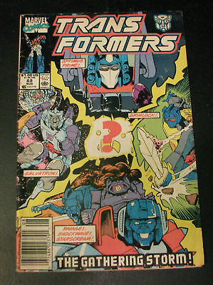 Transformers #69 The Gathering Storm 1990 Marvel Comics VG