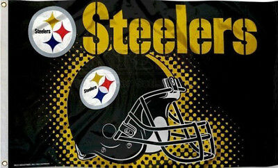 Pittsburgh Steelers Flag 3x5 ft New rico pittsburg banner 150CM * 90CM