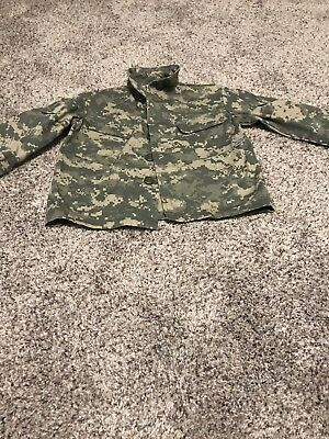 Kids United States Army ACU Camo Trooper Clothing Size 2