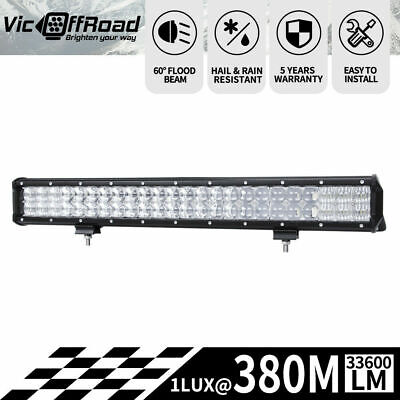23inch LED Light Bar Osram  5D Lens SPOT FLOOD Driving 12v 24V