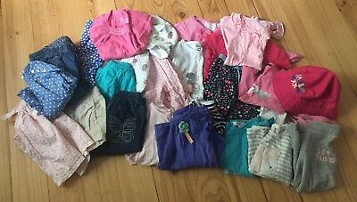 Baby Girl Bulk Spring Summer Clothes Size 1-2 Seed Country Road Gap