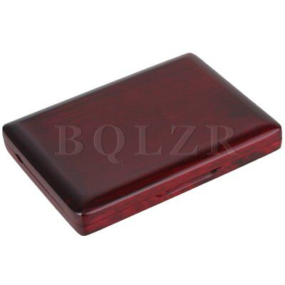 Reeds Box for 12pcs Oboe Reeds Hold Reeds Protector Case Wooden Red Wood Color