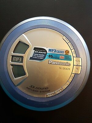 Panasonic Discman with mp3 playback  Sl-sx428