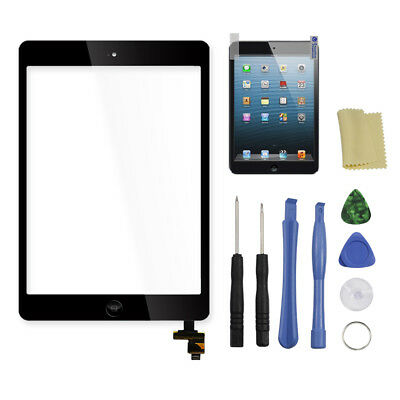 Touch Screen Digitizer Glass Replacement and IC Chip For iPad mini 2 A1489 A1490
