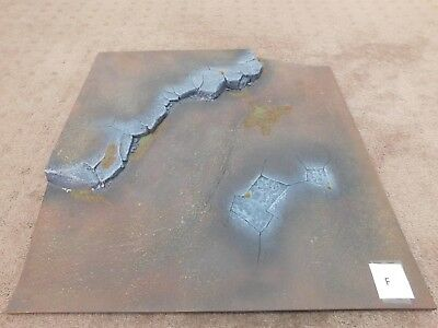 Warhammer 40k Realm of Battle Board Tile Well Painted Terrain Scenery (F)