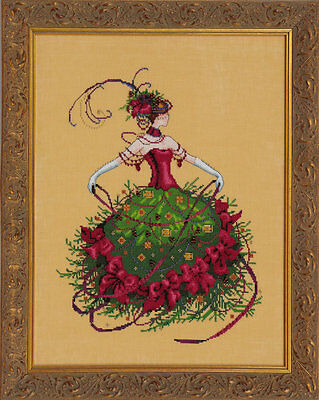 Miss Christmas Eve - Cross Stitch Chart - Free Postage