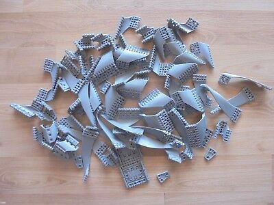 72 Assorted MECCANO speedplay robot 9901 replacement parts lot _used_xx79_Y3a67