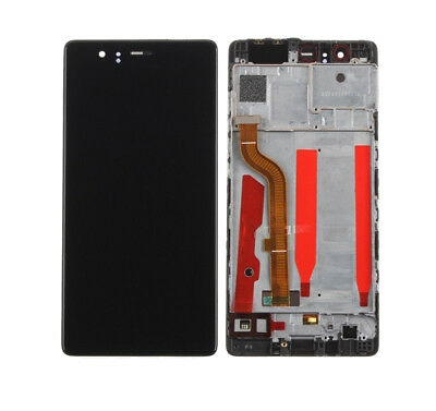 For Huawei P9 Standard EVA-L09 LCD Display Touch Screen Digitizer+Black Frame