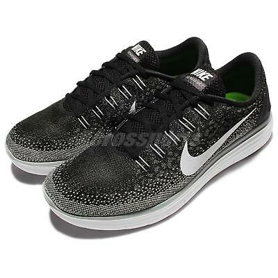 Nike Free RN Distance Run Black Grey Mens Running Shoes Sneakers 827115-010