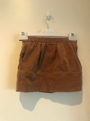 Girls Brown Country Road Skirt Size 3