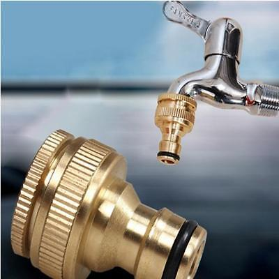 Home Tap to Hose Connector Garden Water Pipe Quick Adaptor Fitting Thread HOT LH