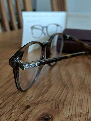 Oliver Peoples Limited Edition Vintage Sir Finlay Optical In Classic Tortoise 51