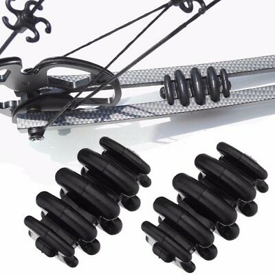 Hunting Compound Bow Shock Stabilizer Absorber Split Limb Vibration Dampener
