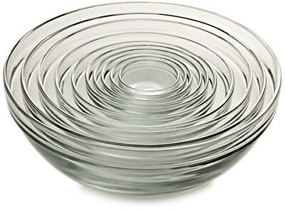 NEW Anchor Complete Mixing Bowl Set 10pce
