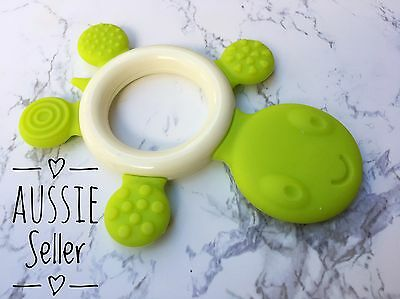 Silicone Turtle Teether Mothers Baby Teether BPA Free- AUS Certified