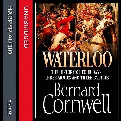 Waterloo: The History of Four Days Three Armies and Three Battles 8 AUDIO CD NEW
