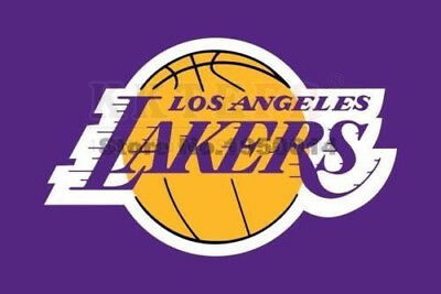 NEW Los Angeles Lakers Flag NBA banner flag 3X5ft