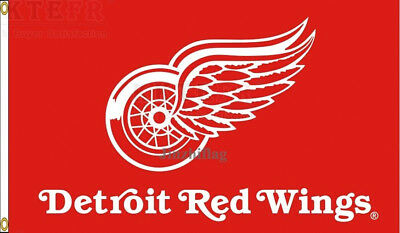 New Detroit Red Wings Flag Banner 002 New 3x5FT Polyester NHL