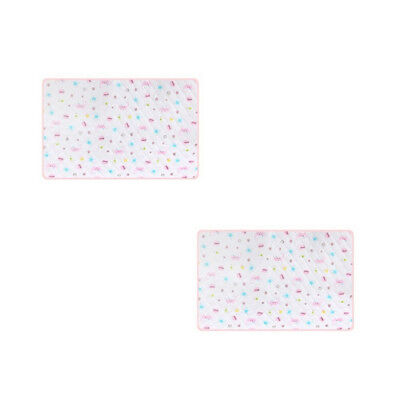 Multicolor Baby Infants Durable Washable Waterproof Urine Mat Cover Changin J2C8