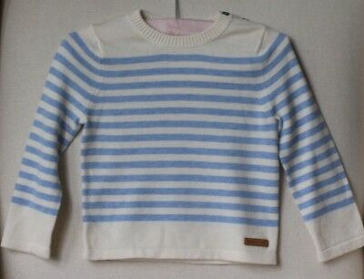 Burberry Children Baby Boys Stripe Knit Sweater 18 Months